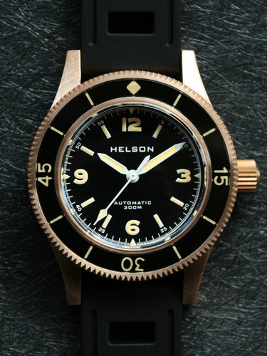 Helson Skindiver Bronzes Now Out The Dive Watch Connection